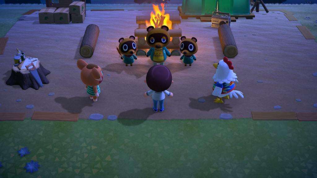 Animal Crossing moving in