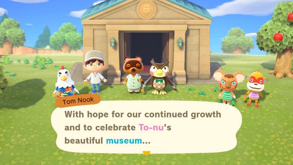 Animal Crossing Museum guide