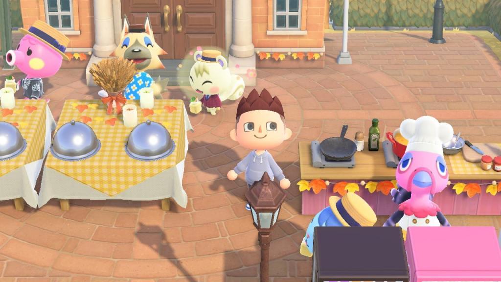 Animal Crossing Franking Turkey Day