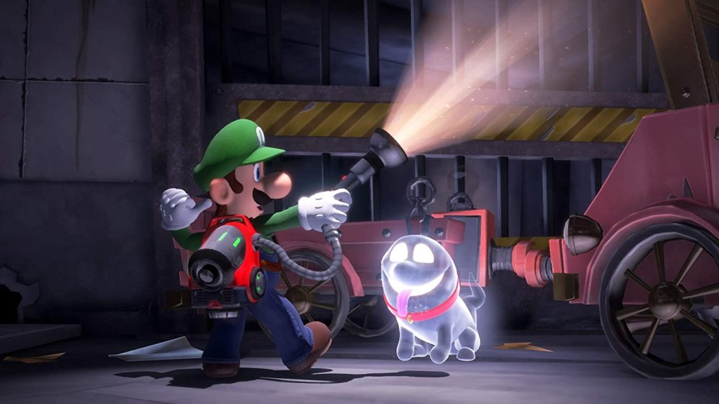 Ghost Dog in Luigi's Mansion