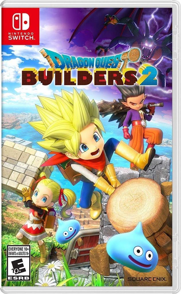 Dragon Quest builder game