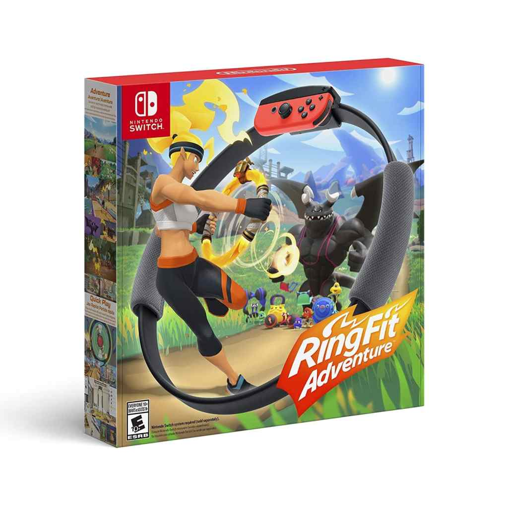 fitness game on the switch