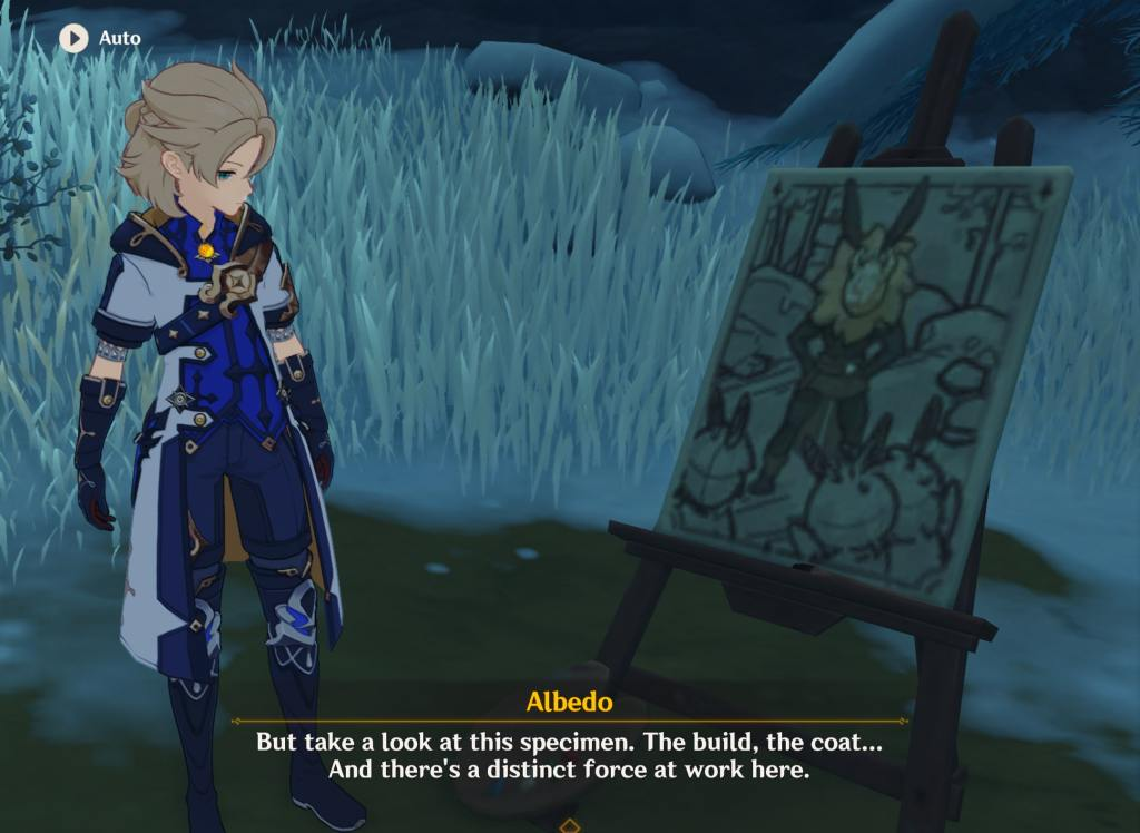 genshin impact Albedo backstory