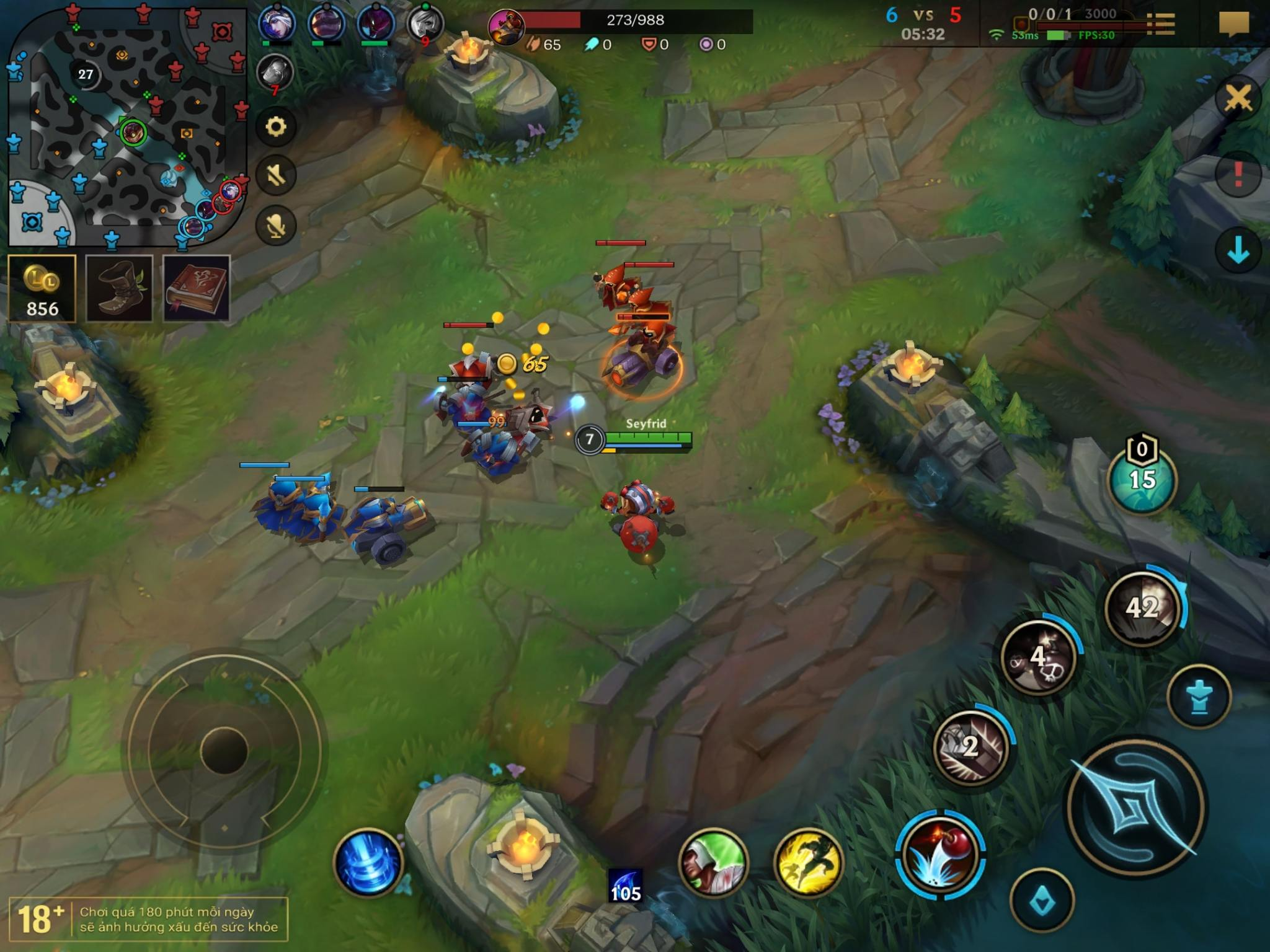 league of legends mobile game